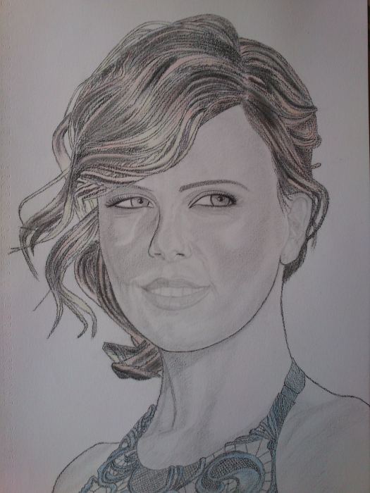 Charlize Theron by GumPen